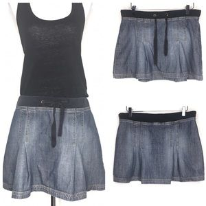 BCBGMaxazria Jeans Blue Denim Mini Skirt A160408